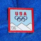 2006 TORINO ITALY OLYMPICS PIN RINGS MICHELLE KWAN *GREAT OLYMPICS TRADING PIN*