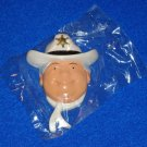 *NEW* JEFFERSON PARISH SHERIFF HARRY LEE COWBOY HEAD MARDI GRAS MAGNET *SEALED*