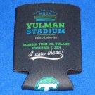 HISTORIC BRAND NEW TULANE UNIVERSITY YULMAN FOOTBALL STADIUM OPENING DAY KOOZIE