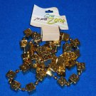 *BRAND NEW* DAZZLING AWESOME AUTHENTIC NEW ORLEANS MARDI GRAS DICE BEAD WITH TAG