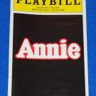 ANNIE PLAYBILL MUSICAL HAROLD GRAY STROUSE CHARNIN MEEHAN TONY AWARD WINNER