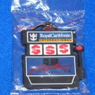 ROYAL CARIBBEAN INTERNATIONAL CASINO SLOT MACHINE KEYCHAIN FACTORY SEALED