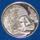 GRIDIRONS GREATEST FOOTBALL NEW ORLEANS MARDI GRAS DOUBLOON COIN TOKEN NOLA