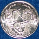 LAS VEGAS PIN UP GIRL NEW ORLEANS MARDI GRAS DOUBLOON CRAPS DICE POKER CARDS