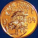 NEW ORLEANS STREETCAR NEW ORLEANS MARDI GRAS DOUBLOON TOKEN TROLLEY CAR HORSE