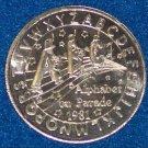 ALPHABET ON PARADE ABC NEW ORLEANS MARDI GRAS DOUBLOON COIN NOLA TOKEN LETTERS