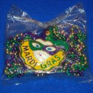 ***BRAND NEW*** MARDI GRAS MASK AUTHENTIC NEW ORLEANS MARDI GRAS BEAD **SEALED**