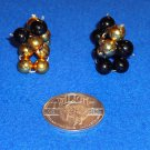 ADORABLE MARDI GRAS BEAD DOGS NEW ORLEANS SAINTS COLORS + *BONUS* DOUBLOON