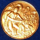 "MAJESTIC ""RIVERS OF THE WORLD"" AUTHENTIC NEW ORLEANS MARDI GRAS DOUBLOON TOKEN"