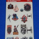 BRAND NEW WALT DISNEY STAR WARS TATTOOS R2D2 C3PO STORMTROOPERS *FACTORY SEALED*