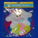 EASTER RABBIT COLORFUL WIND SPINNER EASTER EGG SPRING HANGING HOLIDAY DECORATION