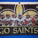 NEW ORLEANS SAINTS PLAYERS WALL BANNER OFFICIALLY LICENSED ***FACTORY SEALED***