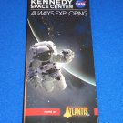 *BRAND NEW* KENNEDY SPACE CENTER BROCHURE NASA SPACE SHUTTLE ATLANTIS APOLLO