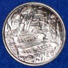 HAPPILY EVER AFTER CASTLE FIREWORKS AUTHENTIC NEW ORLEANS MARDI GRAS DOUBLOON