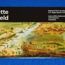 "CHALMETTE BATTLEFIELD ""BATTLE OF NEW ORLEANS"" NATIONAL HISTORICAL PARK BROCHURE"