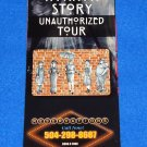 AMERICAN HORROR STORY UNAUTHORIZED TOUR SOUVENIR BROCHURE ANNE RICE FRENCH QUARTER
