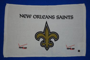 *BRAND NEW* SENSATIONAL OFFICIALLY LICENSED NEW ORLEANS SAINTS RALLY TOWEL NFL