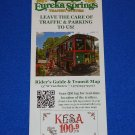 *NEW* EUREKA SPRINGS PARK TRANSIT SYSTEM BROCHURE RIDER'S GUIDE & TROLLEY ROUTES