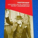 NEW CHURCHILL WAR ROOMS LONDON'S SECRET UNDERGROUND WORLD WAR II MUSEUM BROCHURE