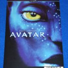 INCREDIBLE AVATAR MOVIE PLACARD SCIENCE FICTION SIGOURNEY WEAVER JAMES CAMERON