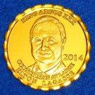 2014 KING ARGUS XXX ELTON LAGASSE NEW ORLEANS MARDI GRAS DOUBLOON COUNCILMAN