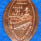NATIONAL WORLD WAR II MUSEUM MILITARY BATTLESHIP PENNY SOUVENIR WWII PACIFIC