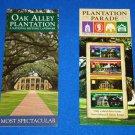 NEW OAK ALLEY NATIONAL HISTORIC LANDMARK BROCHURE + *BONUS PLANTATION PAMPHLET*