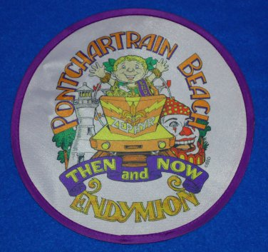 *RARE* PONTCHARTRAIN BEACH NEW ORLEANS MARDI GRAS FRISBEE ENDYMION FLYING DISC