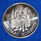 MILITARY MOMENTS AUTHENTIC NEW ORLEANS MARDI GRAS DOUBLOON ARMY AMERICAN FLAG