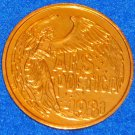 ARS POETICA ART OF POETRY ANGEL AUTHENTIC NEW ORLEANS MARDI GRAS DOUBLOON TOKEN