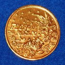 FLORA OF THE REALM AUTHENTIC NEW ORLEANS MARDI GRAS DOUBLOON FLOWERS STARS TOKEN