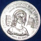 CHARMING FIRST LADY SARAH CHILDRESS POLK NEW ORLEANS MARDI GRAS DOUBLOON