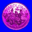 MARDI GRAS FROM THE BEGINNING AUTHENTIC NEW ORLEANS MARDI GRAS DOUBLOON KING