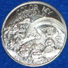 COLOR MY WORLD NEW ORLEANS MARDI GRAS DOUBLOON SPHINX PIRATE SHIP EGYPT PYRAMID