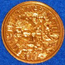 CAPTIVATING LOVELY MAN'S REFLECTIONS OF A WOMAN NEW ORLEANS MARDI GRAS DOUBLOON