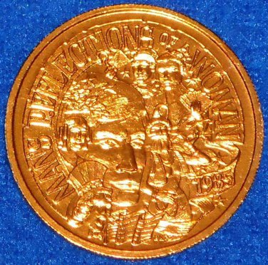 CAPTIVATING LOVELY MAN�S REFLECTIONS OF A WOMAN NEW ORLEANS MARDI GRAS DOUBLOON