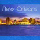BRAND NEW UNUSED FASCINATING NEW ORLEANS SKYLINE LOUISIANA POSTCARD COLLECTIBLE