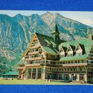VINTAGE WATERTON LAKES NATIONAL PARK PRINCE OF WALES HOTEL MOUNT VIMY POSTCARD