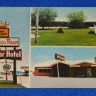 VINTAGE UNUSED BEST WESTERN PHILLIPS MANOR MOTOR HOTEL POSTCARD DUMAS TEXAS