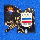 EXTRAORDINARY 2002 SALT LAKE CITY WINTER OLYMPICS PIN JUGOSLAVIJA 1984 SARAJEVO