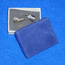 *BRAND NEW* VINTAGE NASA SPACE SHUTTLE TIE TACK PIN SPACECRAFT WITH GIFT BOX