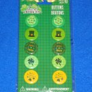 **BRAND NEW** 10 ST. PATRICK'S DAY BUTTONS CUTE SET OF SMALL IRISH PINS *SEALED*