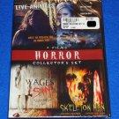 *BRAND NEW* 4 HORROR FILMS DVD COLLECTOR'S SET FACTORY SEALED VAN DIEN K. BELL