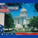 CAPTIVATING MISSOURI STATE CAPITOL POSTCARD NATIONAL REGISTER OF HISTORIC PLACES