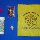 MARDI GRAS WORLD GIFT PACKAGE #1 AUTHENTIC NEW ORLEANS MARDI GRAS THROWS