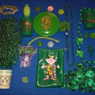 NEW ORLEANS MARDI GRAS BEADS GIFT BOX - ST. PATRICK'S DAY PACKAGE + ***BONUS***