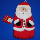 *BRAND NEW* SANTA CLAUS OVEN MITT WINTER WONDERLAND CHRISTMAS HOLIDAY DECORATION