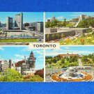 VINTAGE TORONTO CITY HALL PRINCESS MARGARET FOUNTAIN CASA LOMA MUSEUM POSTCARD