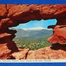 VINTAGE UNUSED GARDEN OF THE GODS STAMP POSTCARD COLORADO SPRINGS PARK RED ROCK