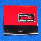 RUTH'S CHRIS STEAK HOUSE RESTAURANT MATCHBOOK BROAD STREET NEW ORLEANS LOUISIANA